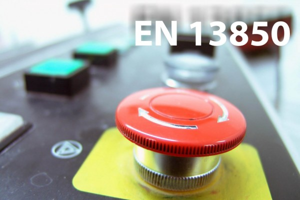 Emergency Stop Function: EN 13850