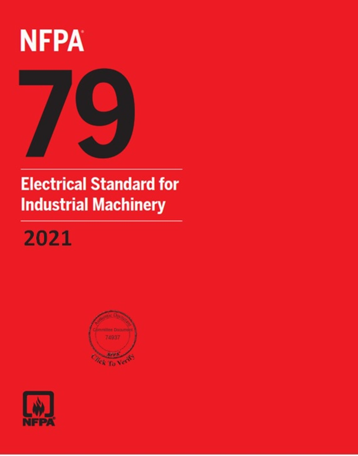 Industrial Machinery NFPA 79